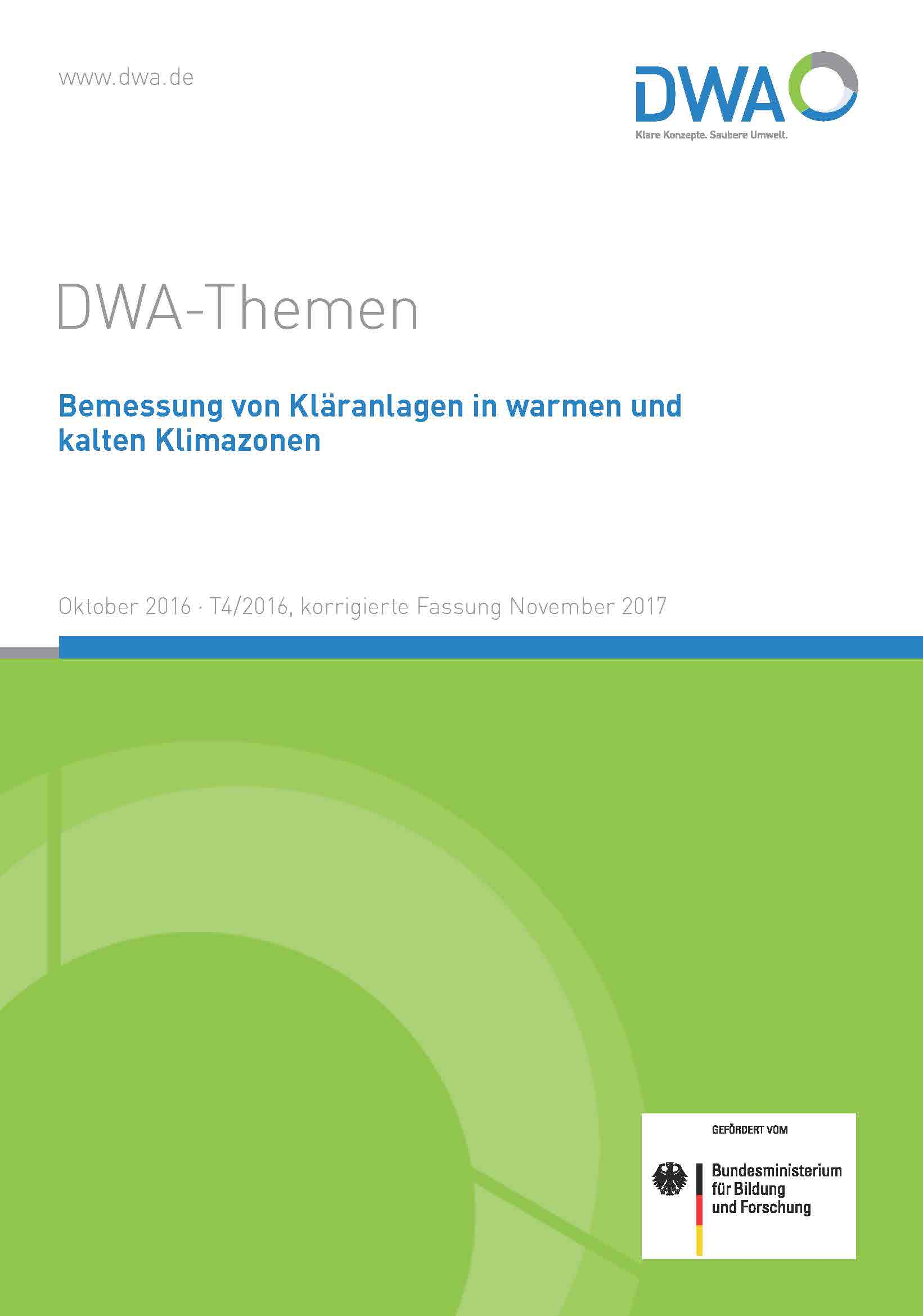 Cover of  DWA Topic T4/2016