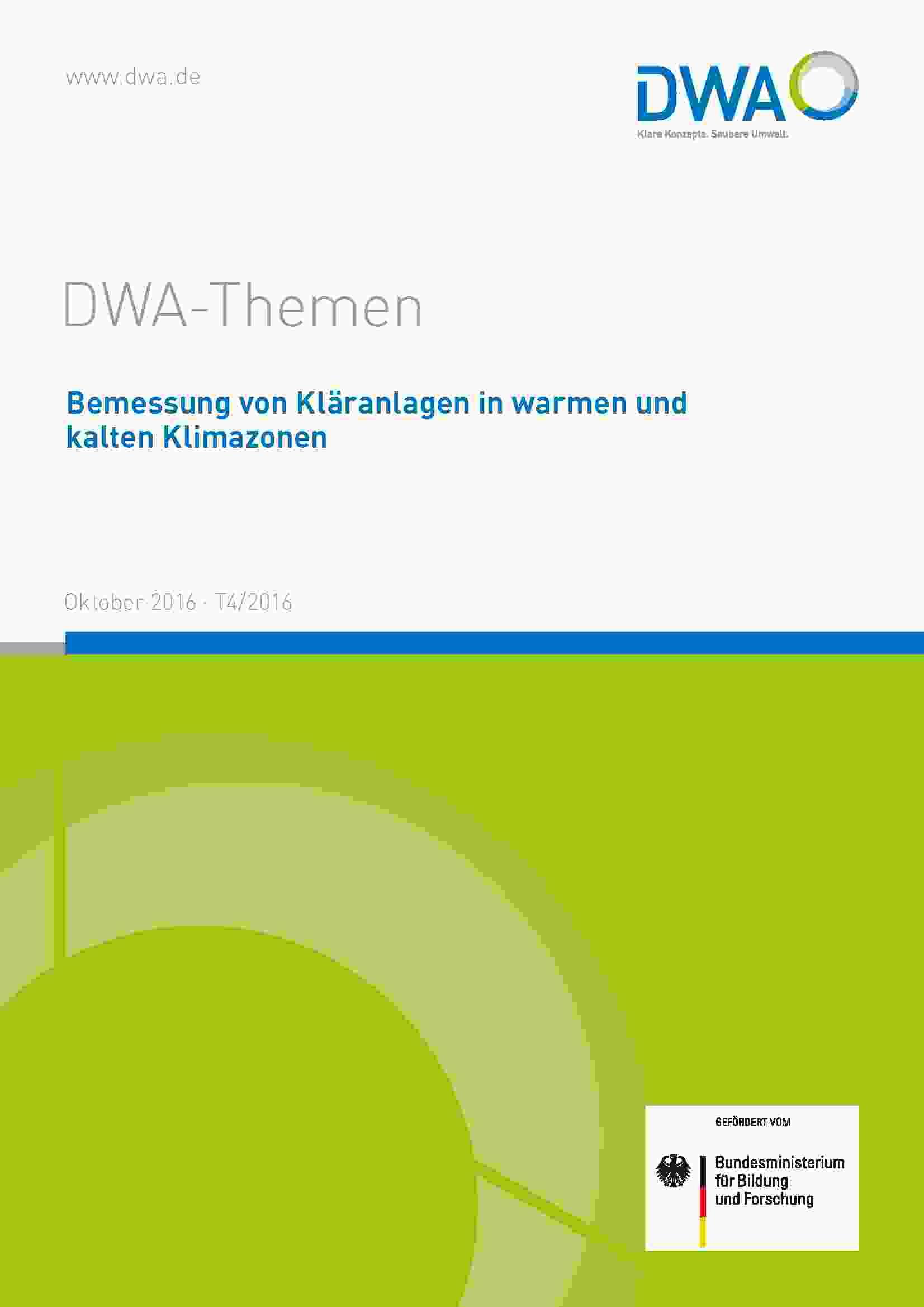 Deckblatt DWA Themen T4/2016