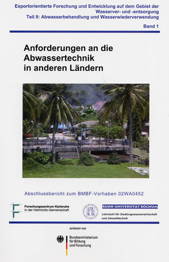 Titelseite Anforderderungen an die Abwassertechnik in anderen Ländern