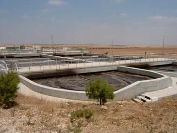 Kläranlage in Jordanien