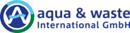 Logo aqua & waste International GmbH, Hannover